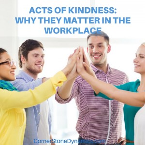 Act of Kindness at work