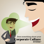 DOES YOUR corporate culture stink