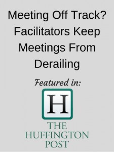 Huffington post - meetings off track