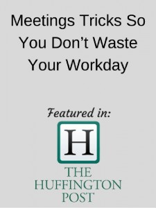 Huffington post - meetings tricks