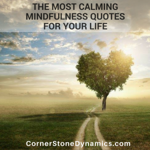 The 10 Best Mindfulness Quotes | CornerStone Dynamics
