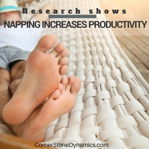 Napping Increases Productivity