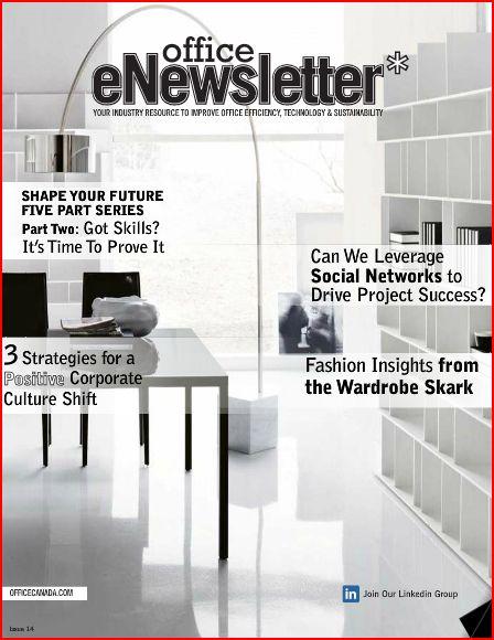 Office eNewsletter - Julie article
