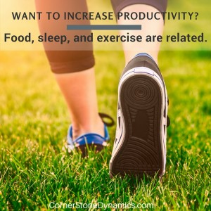 Productivity and exercise