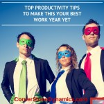 Productivity tips for the best year yet