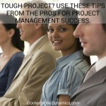 Project management tips for the pros