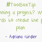 ToolBoxTip-Planning-Work backwards