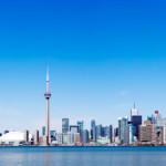 Toronto city skyline, Canada.
