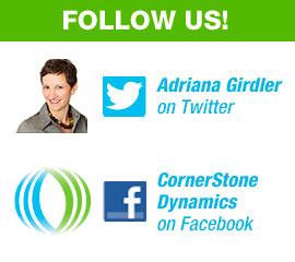 Follow Us - CornerStone Dynamics