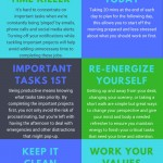 the best productivity tips infographic